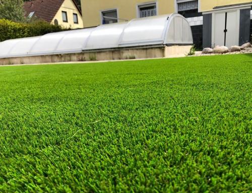 Deluxe heißt unser Kunstrasen von Royal Grass