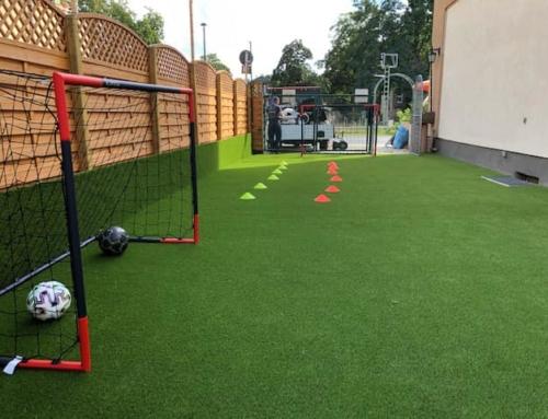 Kleines Soccer Feld für den Nachwuchs war die Zielstellung des Kunden