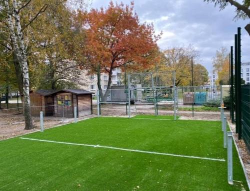 Kleines Fußballfeld für die Jugend von Gräfenhainichen